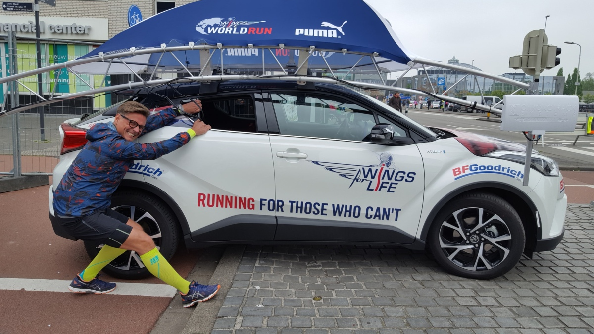 Wings for life world run!