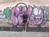 ...kanarisches Grafitti